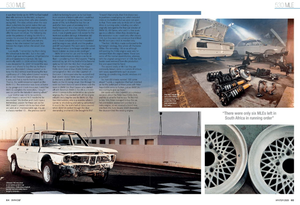 BMW Car Winter 2020 Pages 64 65
