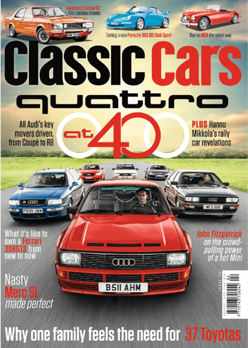 Thoroughbred and Classic Cars April 2020