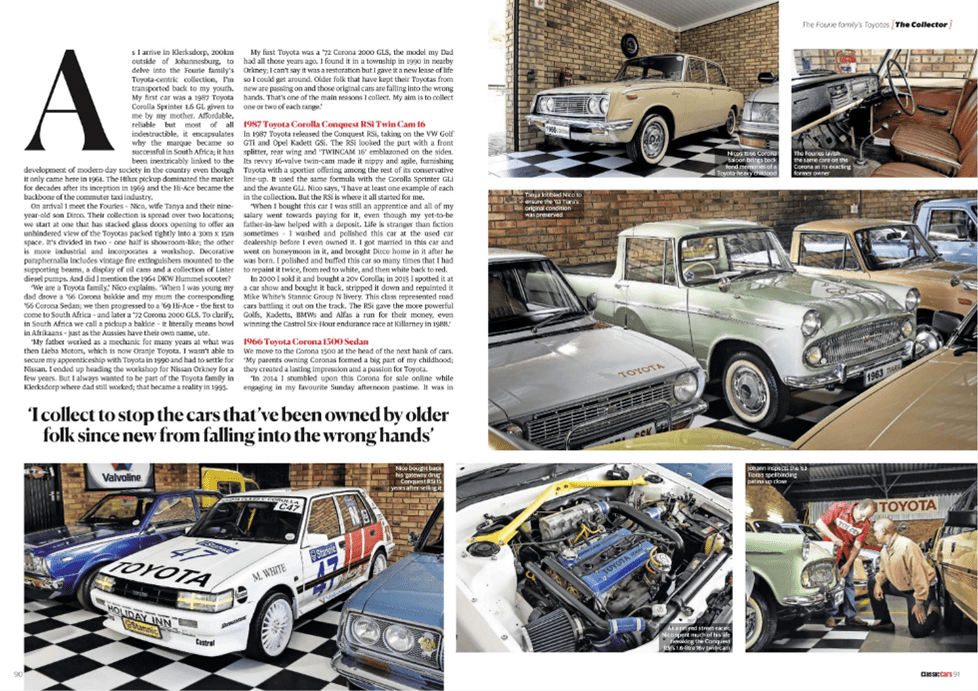 Thoroughbred and Classic Cars April 2020 Pages 90 91