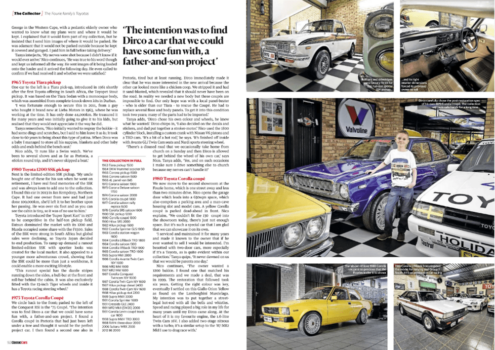 Thoroughbred and Classic Cars April 2020 Pages 92 93