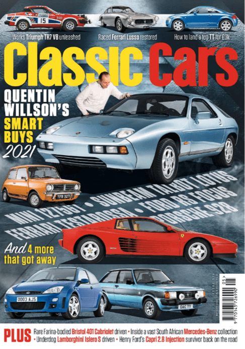 Thoroughbred and Classic Cars May 2021